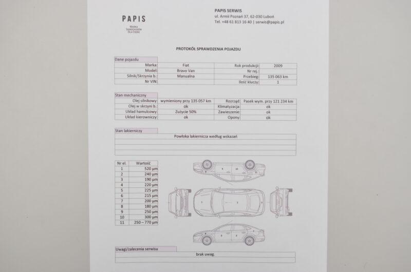 Fiat Bravo II Hatchback 5d Van 1.4 T-JET 16V 120KM 2009r. Marża