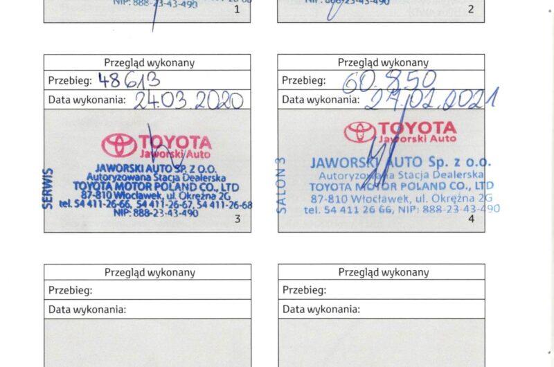 TOYOTA RAV4 2.0 152KM 2017′ Polska VAT23
