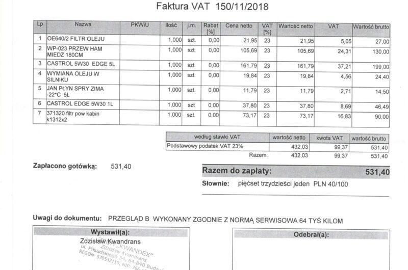 KLASA E 220 CDI 170KM 2014′ Polska Marża