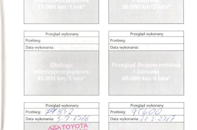 TOYOTA RAV4 2.0 124KM 2014′ VAT23