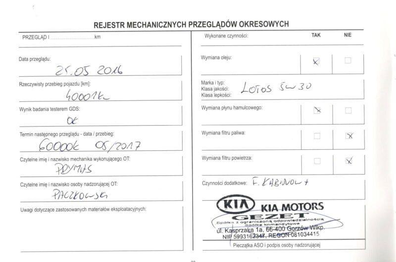 KIA SORENTO 2.4 2014′ Polska Marża
