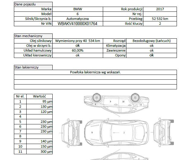 BMW X6 F16 XDRIVE 40D 313KM 2017′ Polska VAT23