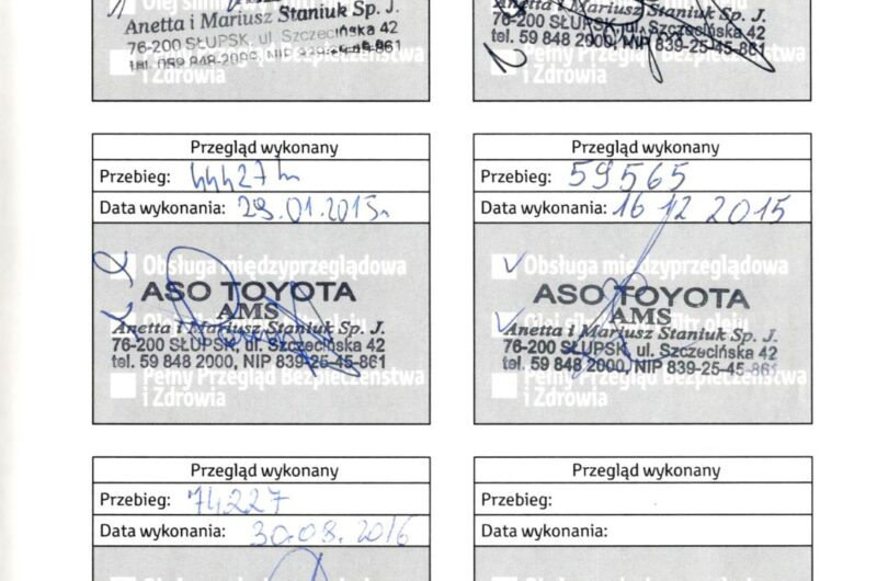 TOYOTA RAV4 2.0 124KM 2013′ Polska Marża