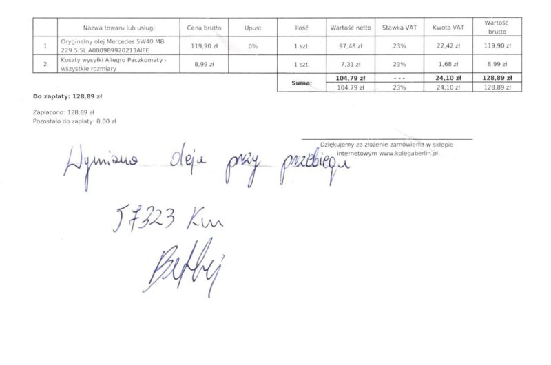 MERCEDES-BENZ KLASA C 2,0 184KM 2016′ Polska Marża