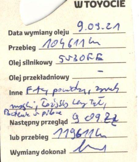 TOYOTA YARIS 1.33 99KM 2016′ Polska Marża